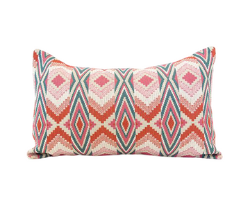 Snake River Blossom Lumbar Pillow - 14x22