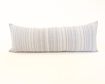 Soft Blues Extra Long Lumbar Pillow - 14x36