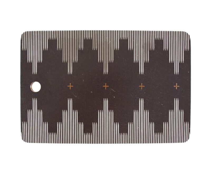 Southwestern Minimalist Black & White Cutting Board