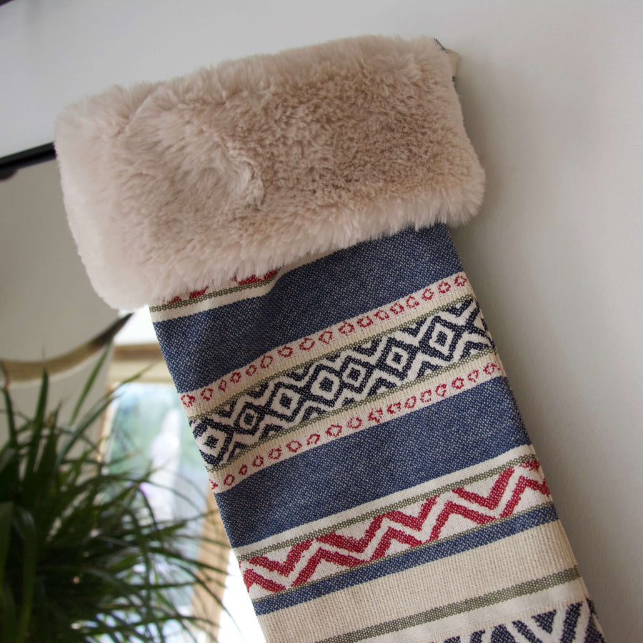Southwestern Christmas Stocking