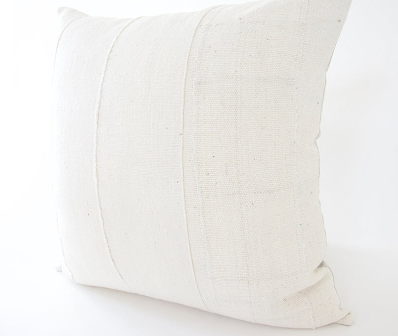 White African Mud Cloth Pillow - 22x22