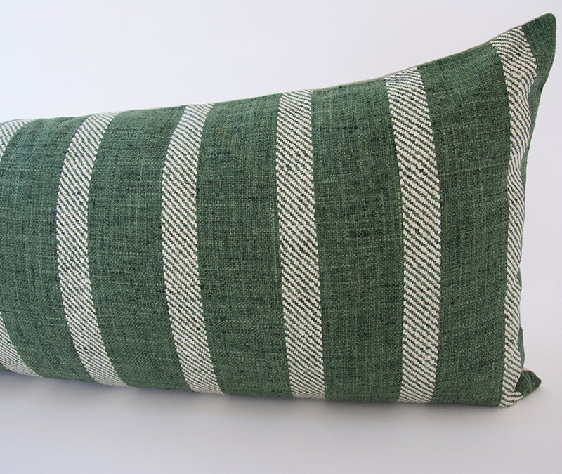 Woven Kale Extra Long Lumbar Pillow - 14x36