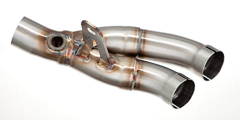 M4 Y-Pipe Kit for 2006 - 2016 Yamaha R6 Exhaust