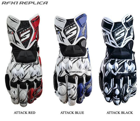 Black Friday 5 Racing RFX1 Replica Glove Blue
