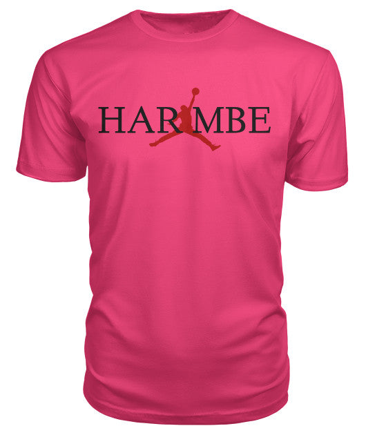 """Harambe "" letters T-Shirt - Bestshopup"