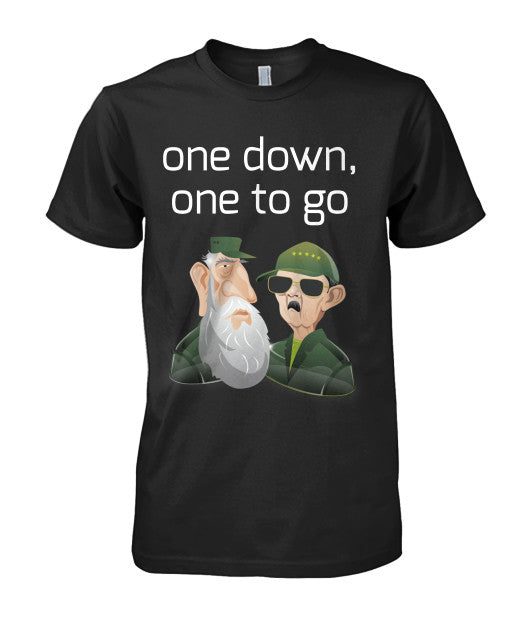 Fidel & Raul Cartoon T-Shirt - Bestshopup