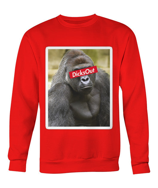 """Dicks Out"" Harambe Sweater - Bestshopup"