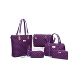 1- (6) Pcs/Set Women Bag Thread Composite Bag Elegant Women - Bestshopup