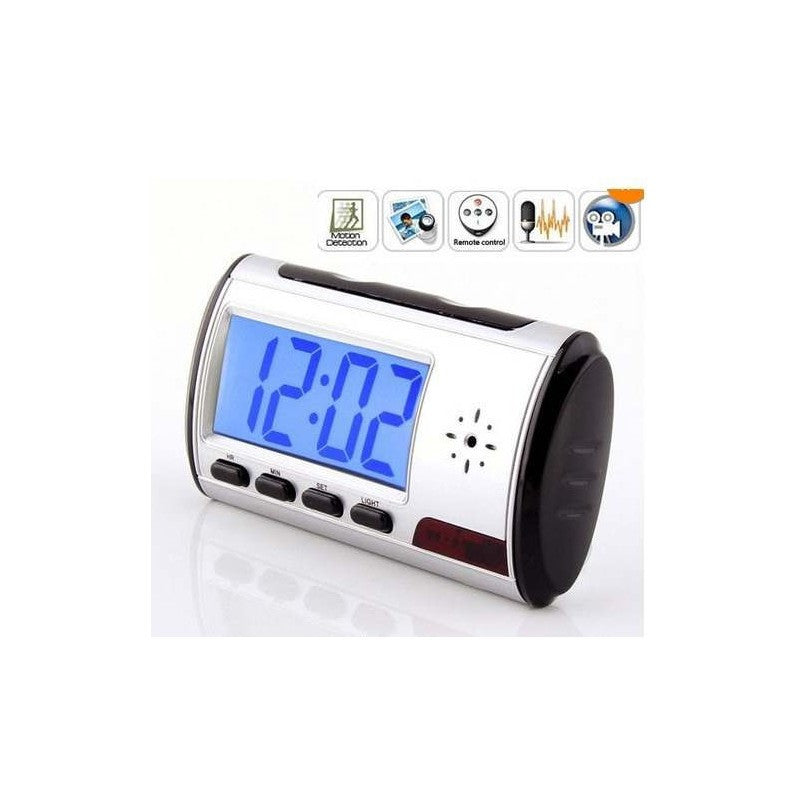 Spy Hidden Camera Clock HD 2014 Newest Digital Alarm Clock Motion Detector Sound - Bestshopup