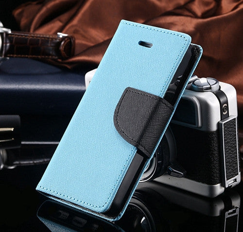 Retro PU Leather Wallet Case For iPhone 4 4S - Bestshopup