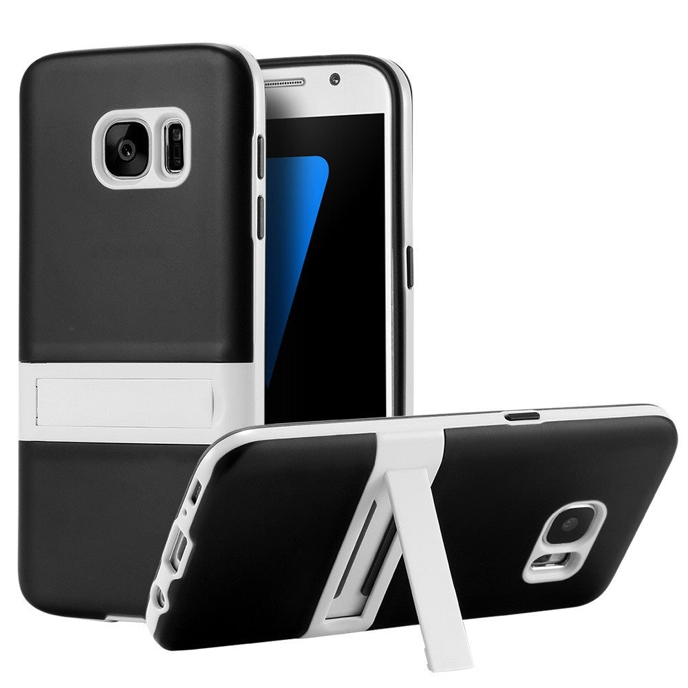 Kickstand Stand Holder Case For Samsung  Shockproof Soft TPU Gel Cover - Bestshopup