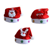 1Pcs Santa Snowman Reindeer Kids Christmas Hat Christmas Gifts For Children Mew Year Gift - Bestshopup