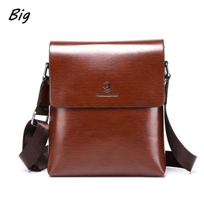 Men's Leather Satchel Messenger Bags - Bestshopup