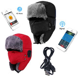 Sport Outdoor Winter Warm Bluetooth Headset Hats Earphone - Bestshopup