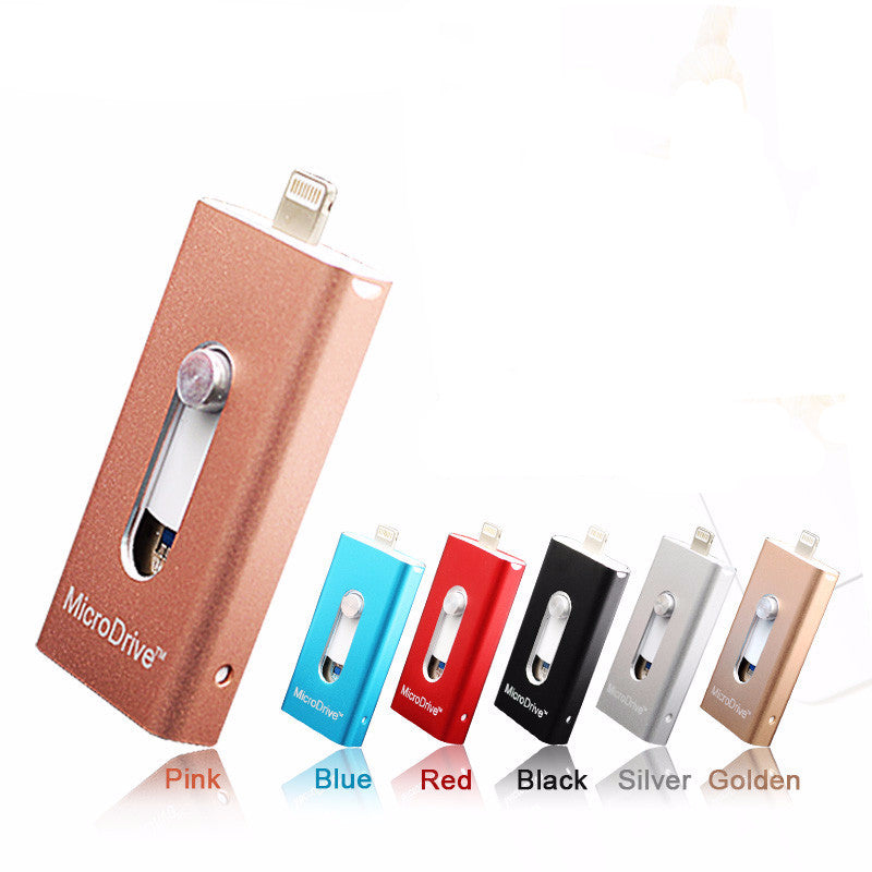 3 in 1 For iPhone micro OTG USB Flash Drive Memory Sticks To apple - Bestshopup