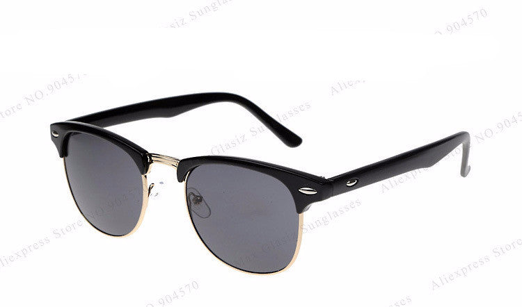 Men's & Women's Retro Inspired Club Elegant Metal Star Master Sunglasses - Bestshopup