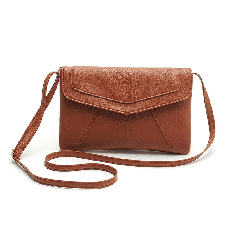 Women's Casual Leather Crossbody Clutch Bag - Bestshopup