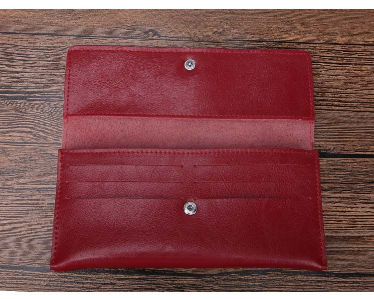 Women's Split Leather Luxury Wallets - Bestshopup