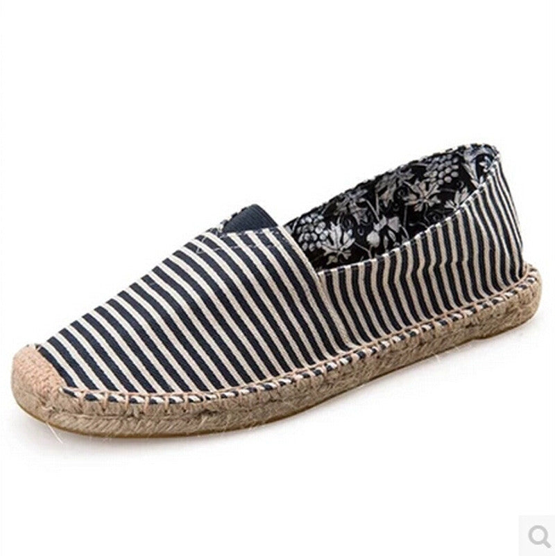 Women's Casual Slip On Flats Canvas Shoes - Bestshopup