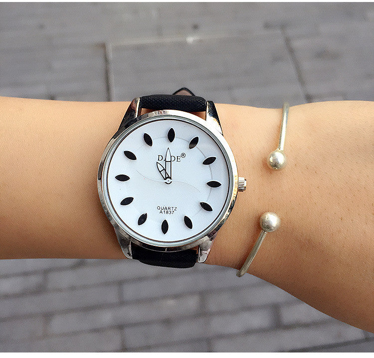 Women's Simple Style Casual Leather Watch - Bestshopup