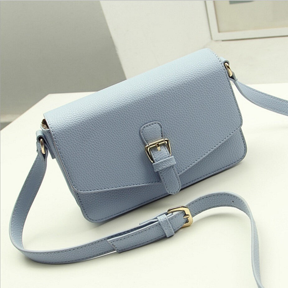 Women's Simple Messenger Genuine Leather Crossbody Bags - Bestshopup