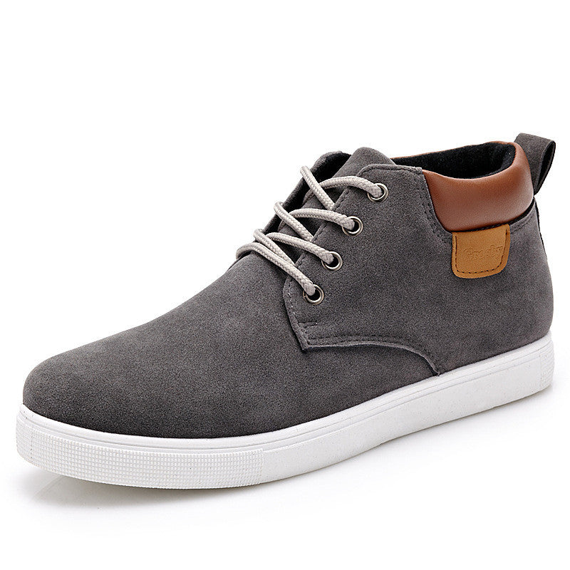 Men's High Top Lace Up Casual Comfortable Shoes - Bestshopup