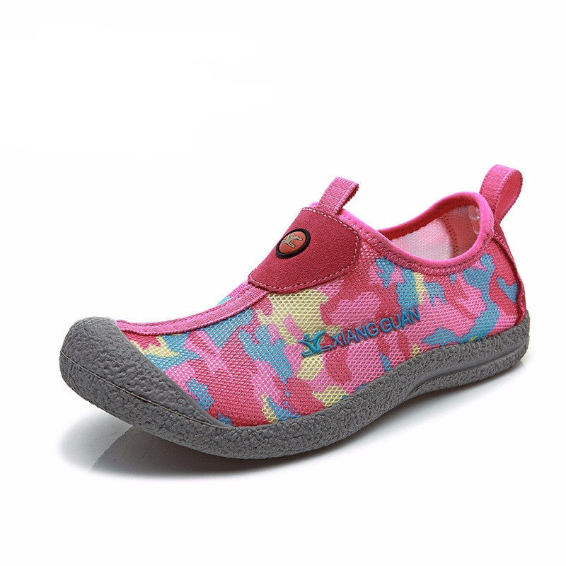 Women's Camouflage Breathable Lazy Walking Shoes - Bestshopup