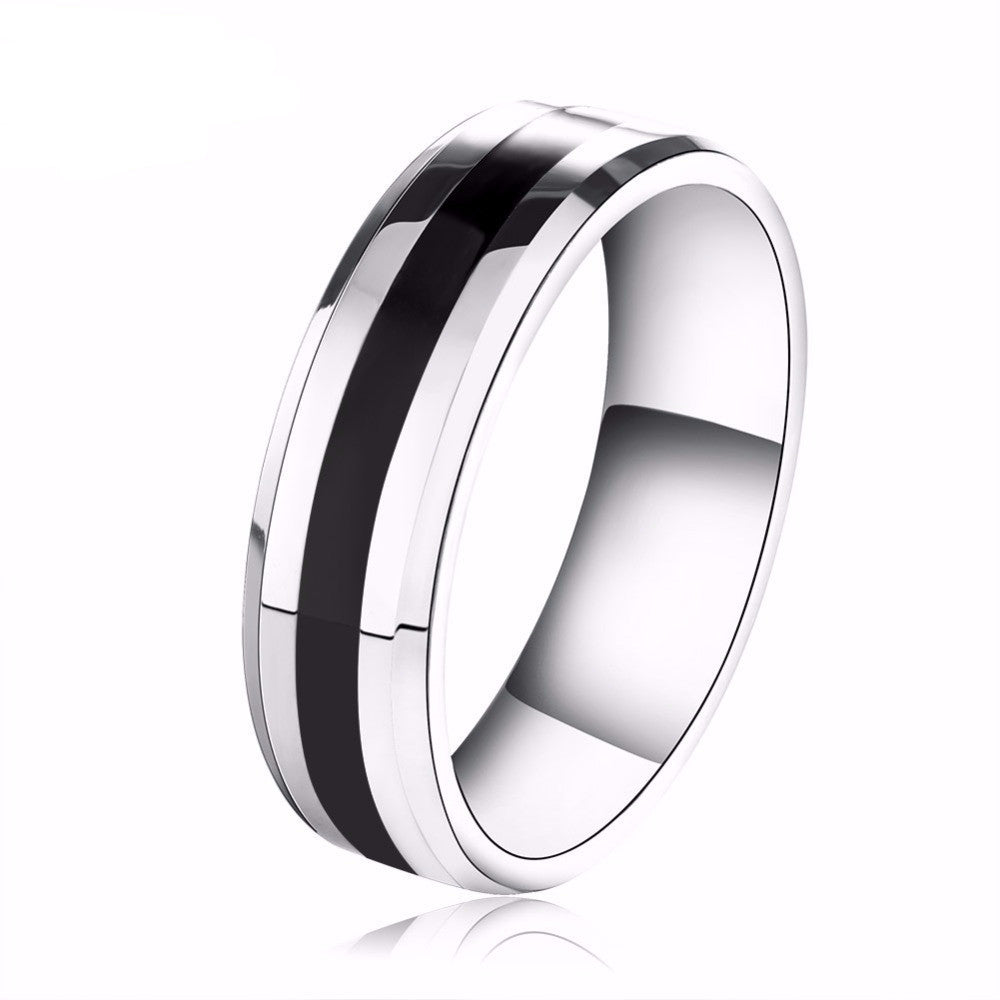 Men's & Women's Titanium Steel Couple Ring - Bestshopup