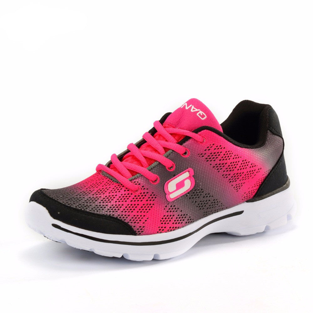 Women's Gradually Changing Color Breathable Running Shoes - Bestshopup