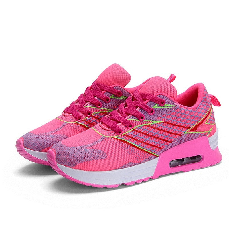 Women's Outdoor Breathable Damping Running Shoes - Bestshopup