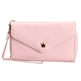 Women's Mini Multi PU Leather Phone Case Wallet - Bestshopup