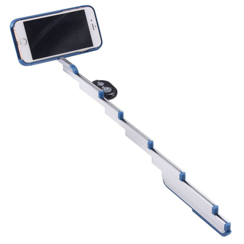 Foldable PC Aluminum Selfie Stick Phone Case & Bluetooth Remote Control - Bestshopup