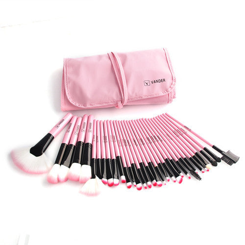 32pc Makeup Brushes Set Pro Cosmetic Brush Kit - Bestshopup