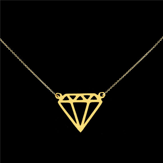 Women's  Statement Geometric Superman Necklace - Bestshopup