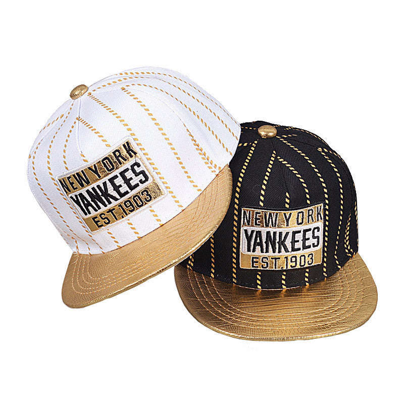 Yankees Striped Kids Snapback Caps - Bestshopup