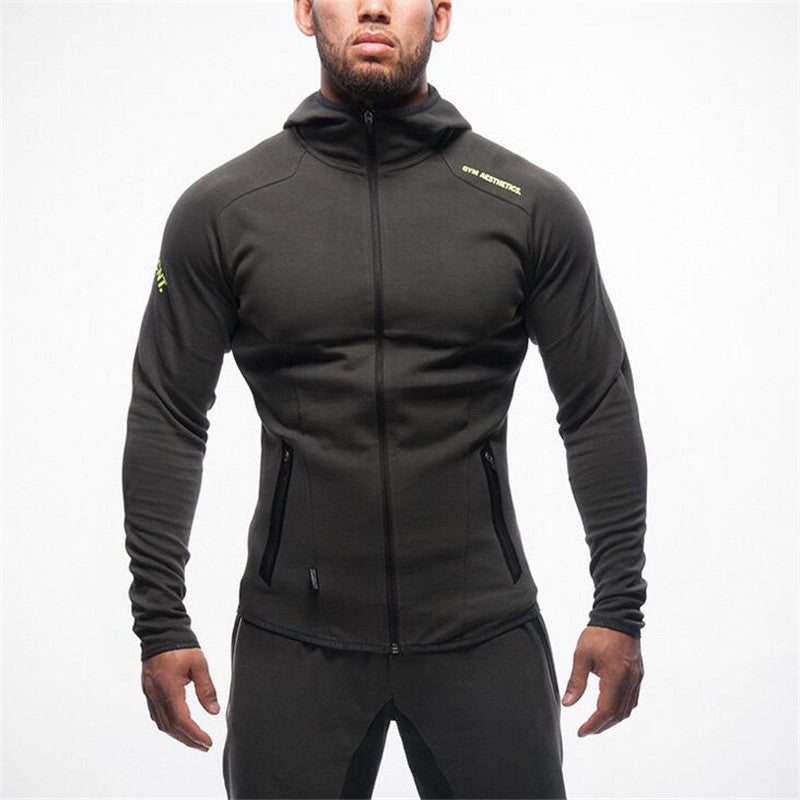 2016 Gymshark Hoodies camisetas Gym masculina hombre coat Bodybuilding and fitness - Bestshopup