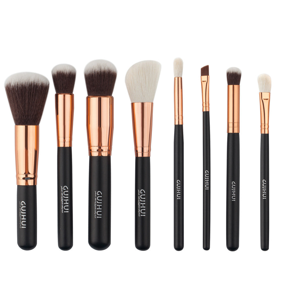 8pcs/set High Quality Brand Makeup Brush Set - Bestshopup