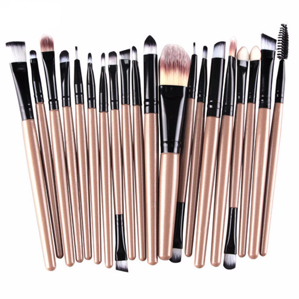 Pro 20Pcs Makeup Brush Sets - Bestshopup
