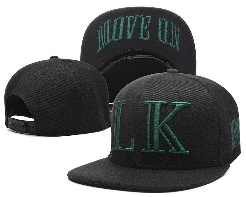 Move On Last Kings Adjustable Embroidery Snapback Hats - Bestshopup