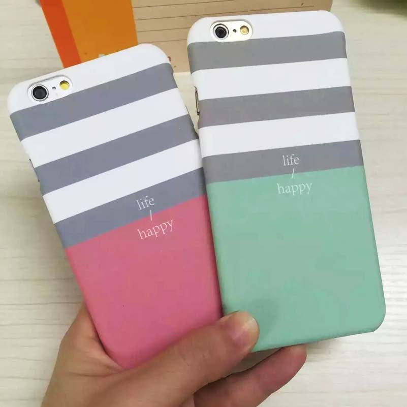Stripe Hard Iphone Case - Bestshopup