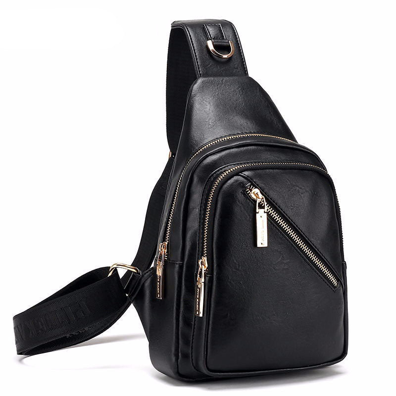 Small Chest Pack Leather Travel Shoulder Bags - Bestshopup