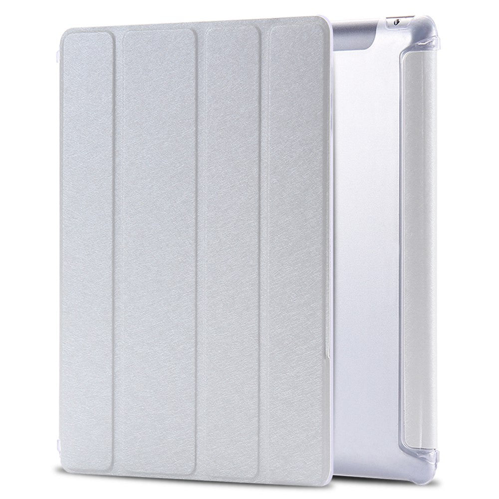 Casual Magnetic Leather Slim Smart Cover for Apple iPad 4 3 2 9.7'' Case + Crystal Transparent Hard - Bestshopup
