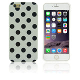Polka Dot Silicon Soft TPU Cover Cases For Apple iPhone - Bestshopup