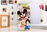 Cartoon Thin Clear iPhone Cases - Bestshopup