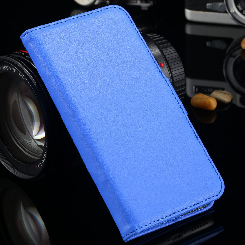 Magnetic Flip Leather Cover With Photo + Card Holder Stand Bags for iPhone - Bestshopup