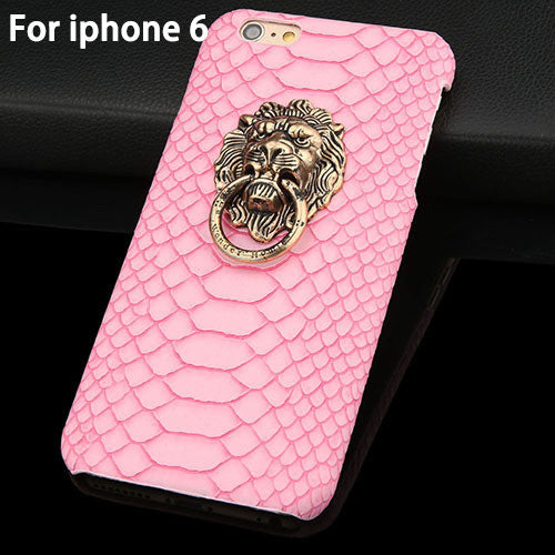 Snake Lizard Texture Leather Skin Hard Back Cover For Iphone - Bestshopup