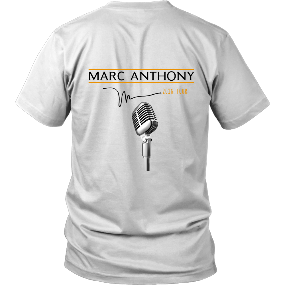 Marc Anthony- Front/Back Printed Fitted T-Shirt - Bestshopup