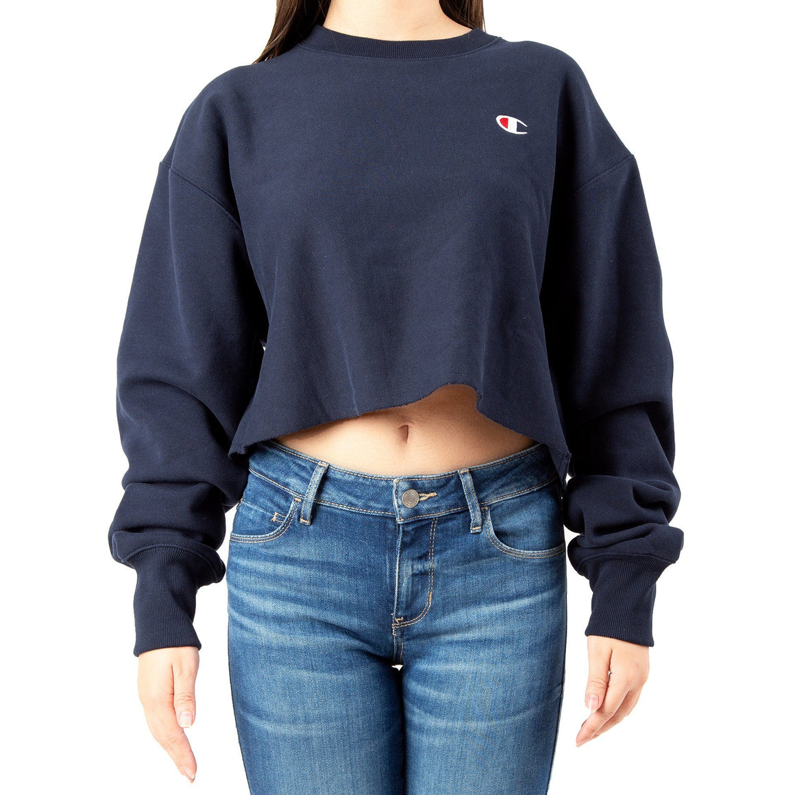 CHAMPION REVERSE WEAVE CROPPED CUT OFF WL827549302031
