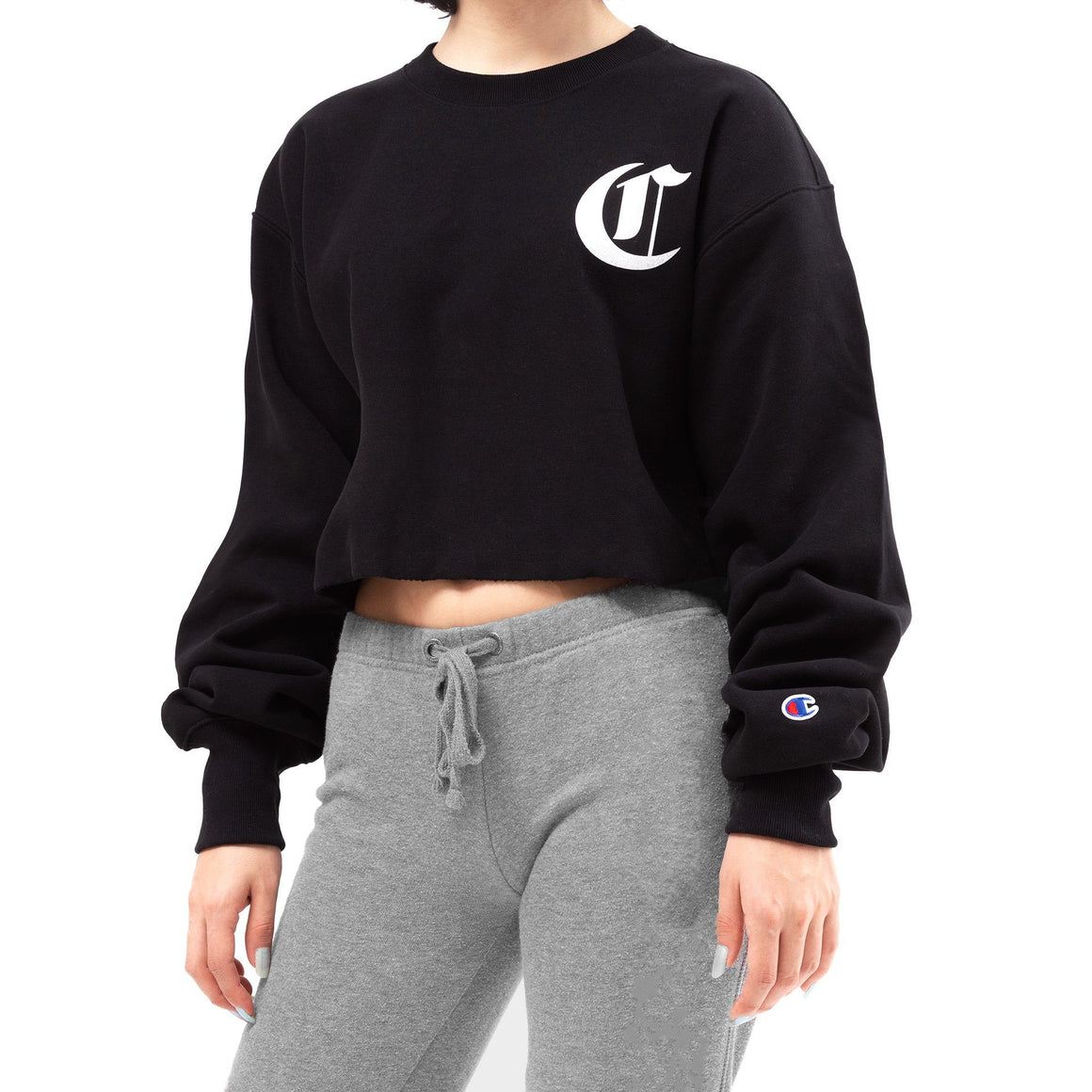 CHAMPION REVERSE WEAVE CROPPED CUT OFF WL827G550213003
