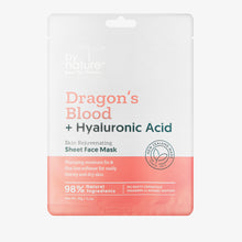 Dragons Blood + Hyaluronic Acid Sheet Face Mask